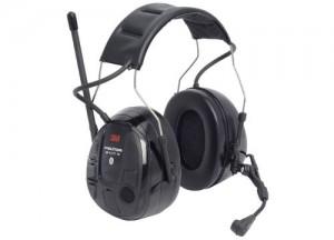 Peltor WS XP er et 3M høreværn med bluetooth, radio og mikrofon.